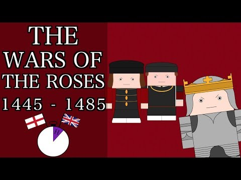 Ten Minute English and British History #16 - The Wars of the Roses