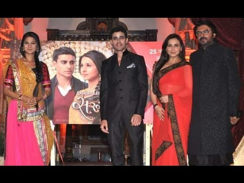Sanjay Leela Bhansali's Saraswatichandra LAUNCH - Jennifer Winget, Gautam Rode, Rani Mukherji