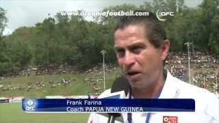 2012 OFC Nations Cup / MD6 / Papua New Guinea vs Fiji Highlights