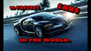 10 Fastest And Beautiful Cars in The World - KnowMore.