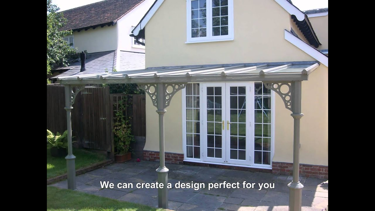 Traditional victorian verandas from nationwide youtube for Victorian carport