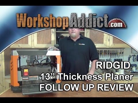"ridgid-13""-thickness-planer-r4331-follow-up-review"