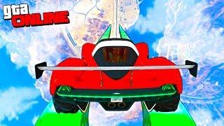 GTA 5 Online (Гонки) - Опасный Спуск с Небес!