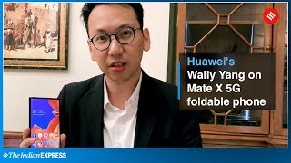 Huawei Mate X First Look: Huawei Mate X is the world's first and fastest 5G foldable phone
