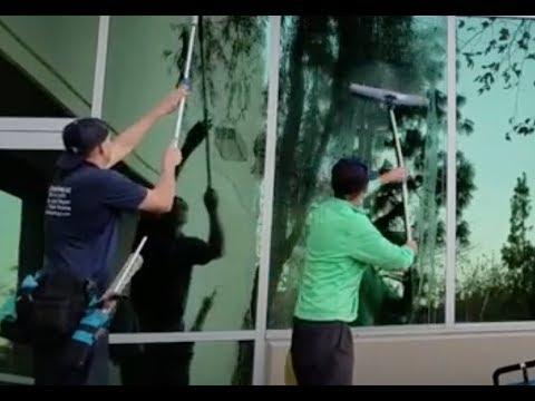 The fastest way to clean windows on a route
