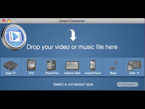 Convert Nearly Any Audio & Video File For Free (Mac)