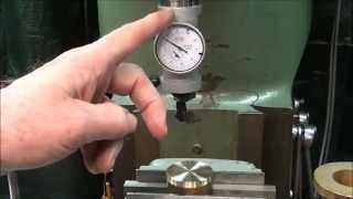 SHOP TIPS #188 Using the Co-Axial Indicator on Bridgeport Mill tubalcain