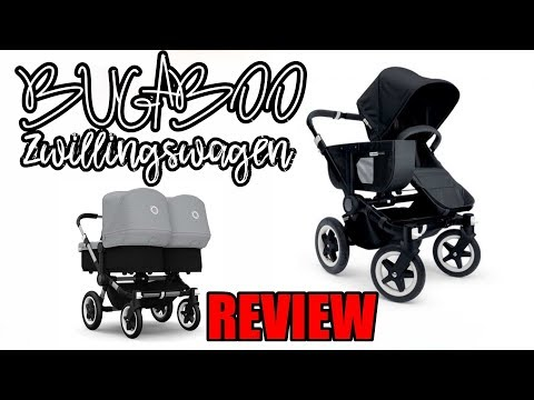 Review: BUGABOO Zwillingswagen ! LIVETEST !