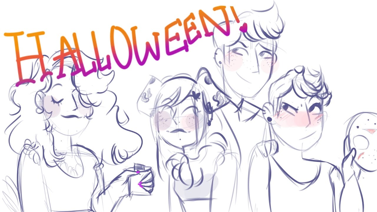 Halloween - Be More Chill Animatic ((WIP)) - YouTube