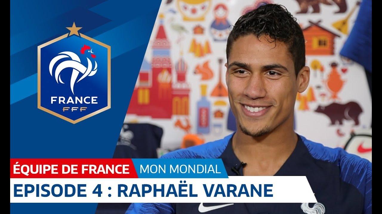 Ma Coupe du monde : épisode 4 - Raphaël Varane I FFF 2018