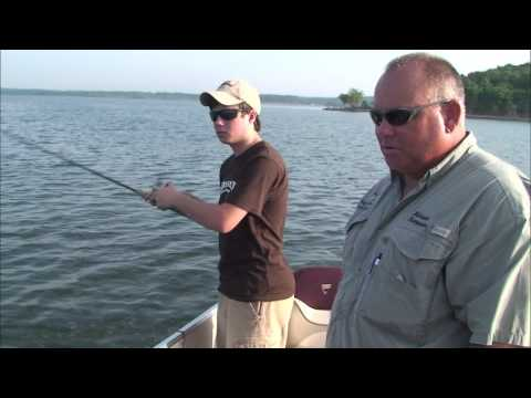 Sandbass Fishing at Ft. Gibson Lake, Oklahoma