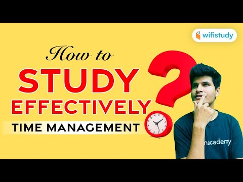 How to Study Effectively? Time Management by Neeraj Jangid