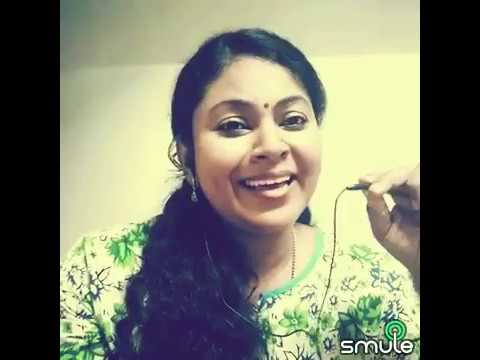 Sivagami Nenappinile 🎶 with Popular Smule Singer Ms Padmaja