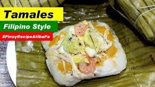 Tamales Filipino Style  How make Tamales Recipe
