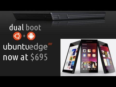 Ubuntu Edge : Android + Ubuntu.