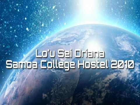Lo'u Sei Oriana (Samoa College Hostel 2010)