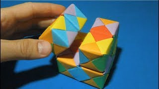 How to make a cube of infinity out of paper. Antistress cube infinity. cube infiniti
