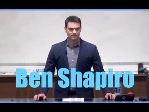 Ben Shapiro Speaks at UNC Chapel Hill: The Left's Obsession with Race