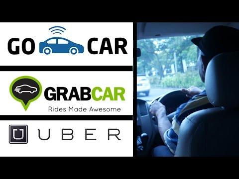 [SOCIAL EXPERIMENT] GOCAR VS GRAB CAR VS UBER (GOJEK, GRAB, UBER)