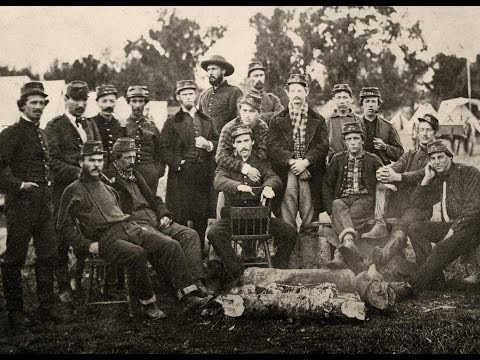 Rare Photographs of Confederate Soldiers Serving With The Washington Artillery in New Orleans (1862)