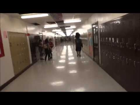 Spring 2012: Tour of Austin High School El Paso, TX w/ ride on Emco Elevator