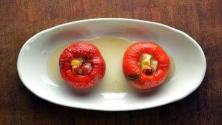 Перцы фаршированные фруктами