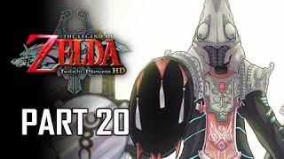 The Legend of Zelda Twilight Princess HD Walkthrough Part 20 - Zant Appears (Hero Mode)