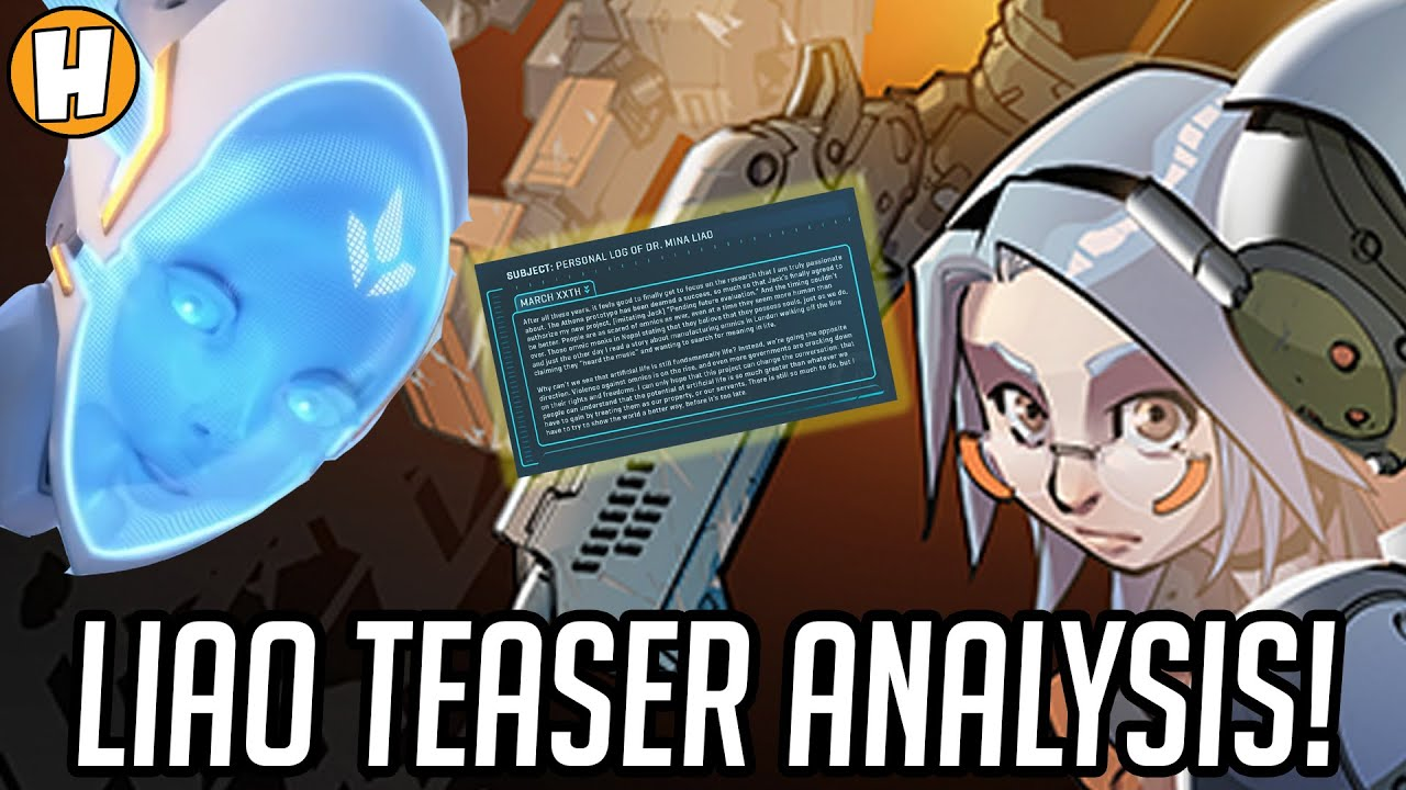 Download Overwatch - Liao/Hero 32 Teaser Lore Analysis - Echo/Athena Incoming? | Hammeh