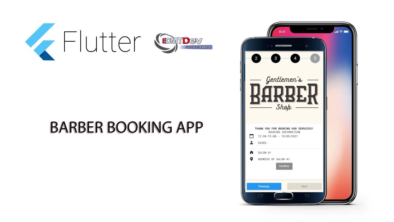 Flutter Tutorial   Barber Booking App #13 Confirm Booking