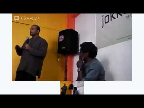 Hangout On Air avec Jay Naidoo [ Hosted by Karim Sy - JokkoL