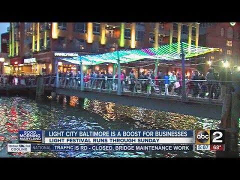 Light City Baltimore is a boost for business
