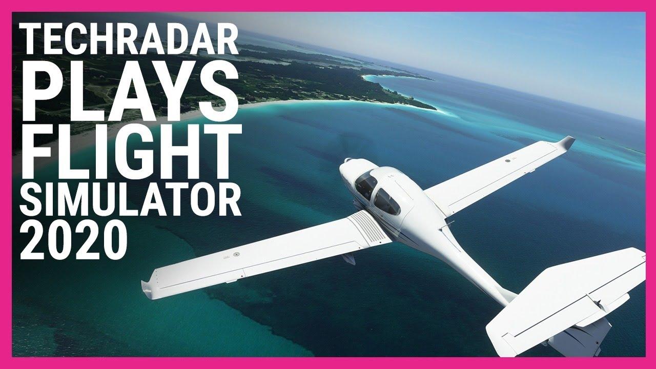 TechRadar Plays Microsoft Flight Simulator (2020) Live - TechRadar