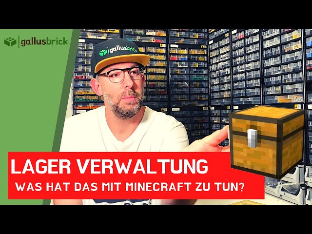 Bricklink Lagerverwaltung. Was hat das mit Minecraft zu tun?