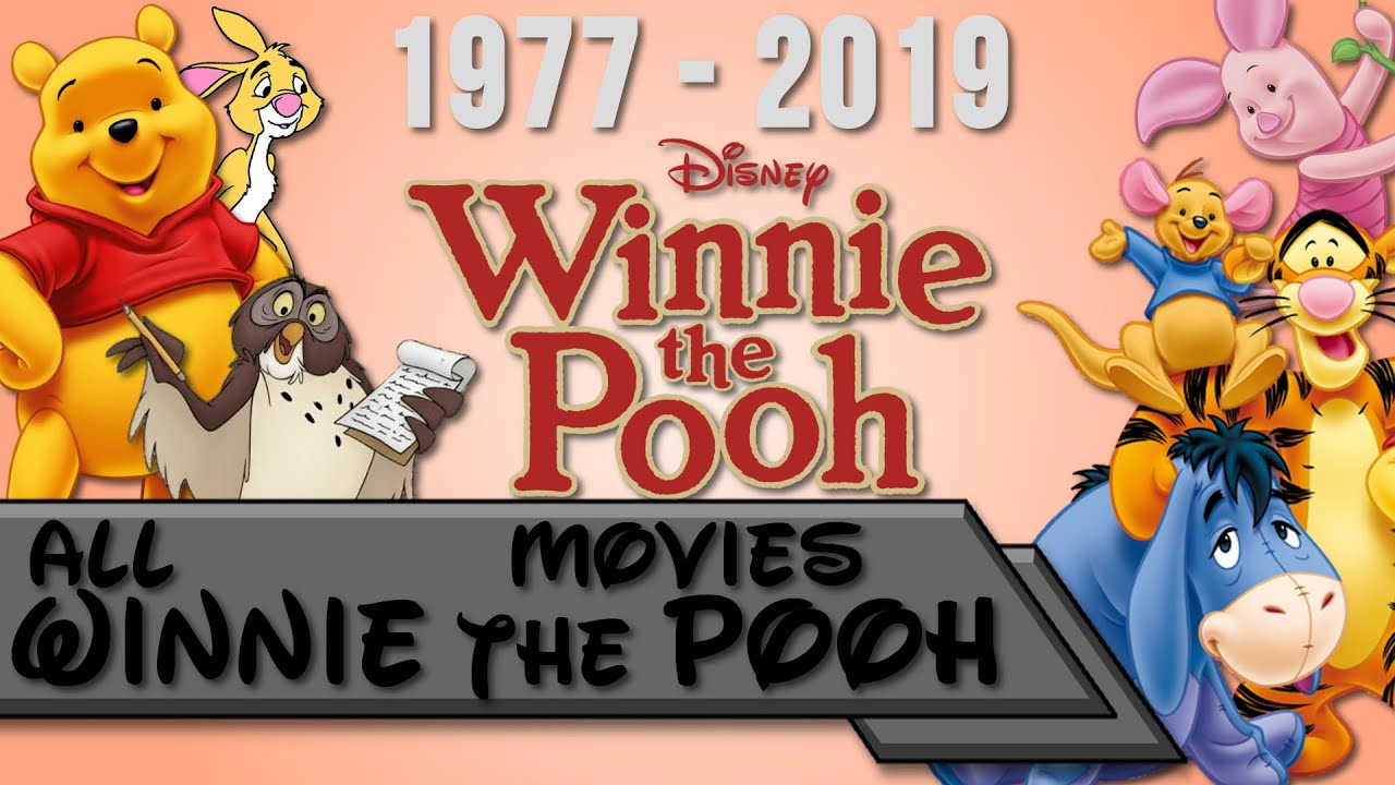 all winnie the pooh movies 19772019  youtube