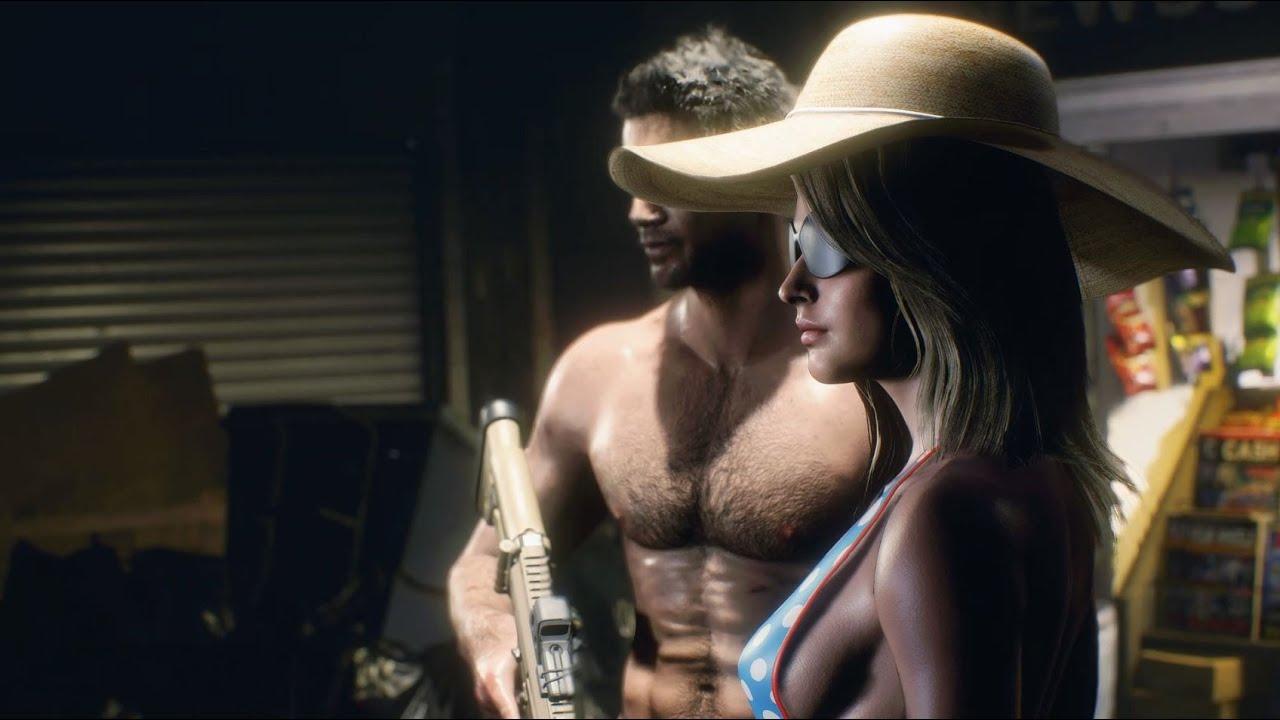 Resident Evil 3 Mod Gameplay Jill Valentine Summer Time 4K 2160p (Jill Summer Time)