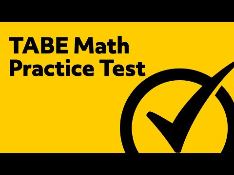 Free TABE Math Practice Test
