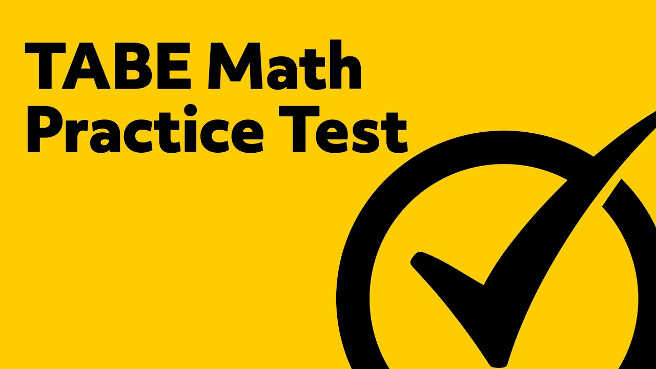 Free TABE Math Practice Test - YouTube