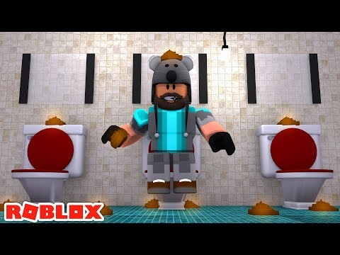 WHAT HAPPENED TO THIS ROBLOX BATHROOM!?!?!