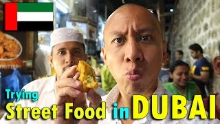 TRYING STREET FOOD IN DUBAI | April 26th, 2017 | Vlog #95