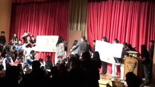 Epic Erics' Surprise Duo Proposal at John Oliver High School 2016 Year End Band Concert (500 Miles)