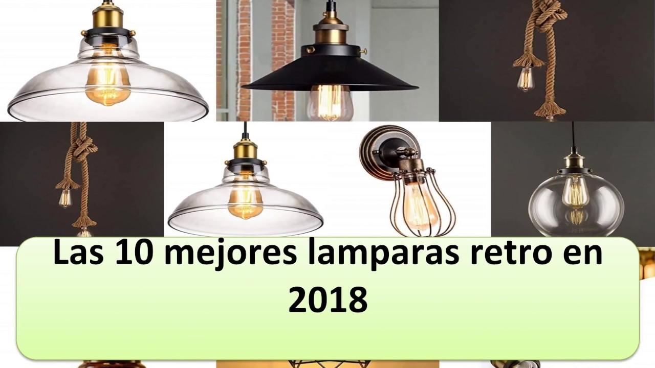 10 Lamparas En Mejores Retro 2018 Las Yb7gfy6