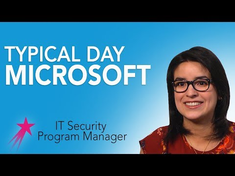 It Security Program Manager: Typical Day - Beatris Mendez Gandica Career Girls Role Model