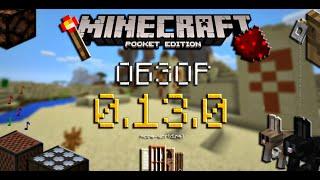 ОБЗОР MINECRAFT PE 0.13.0!!! - Редстоун, кролики, храмы в пустыне, новые двери.. (Pocket Edition)(Обзор неожиданного обновления Minecraft Pocket Edition, в котором добавлены одни из самых долгожданных предметов,..., 2015-11-03T20:50:55.000Z)
