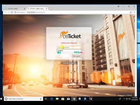 How To Install OsTicket On Ubuntu 14.04 thumbnail