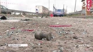 Невідомі в масках напали на ваговий пункт під Одесою / подробиці