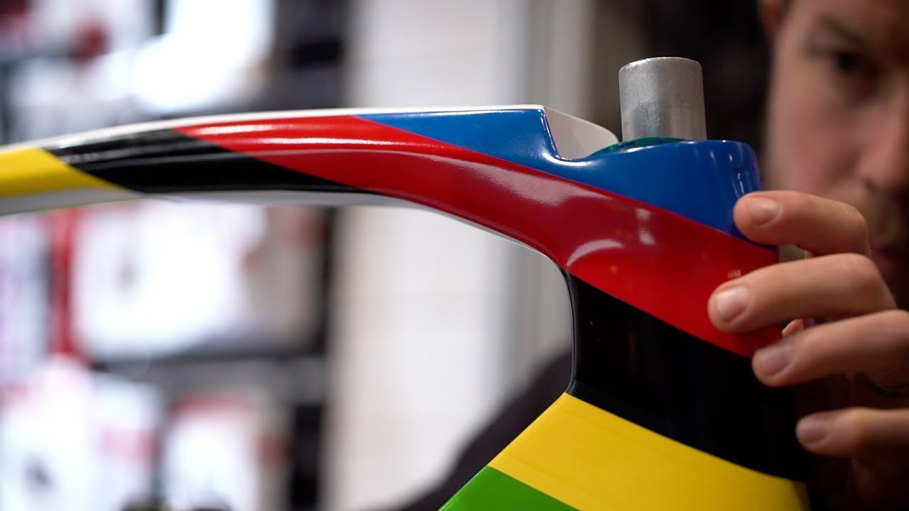 Mads Pedersen's World Champion Trek Madone Bike Build