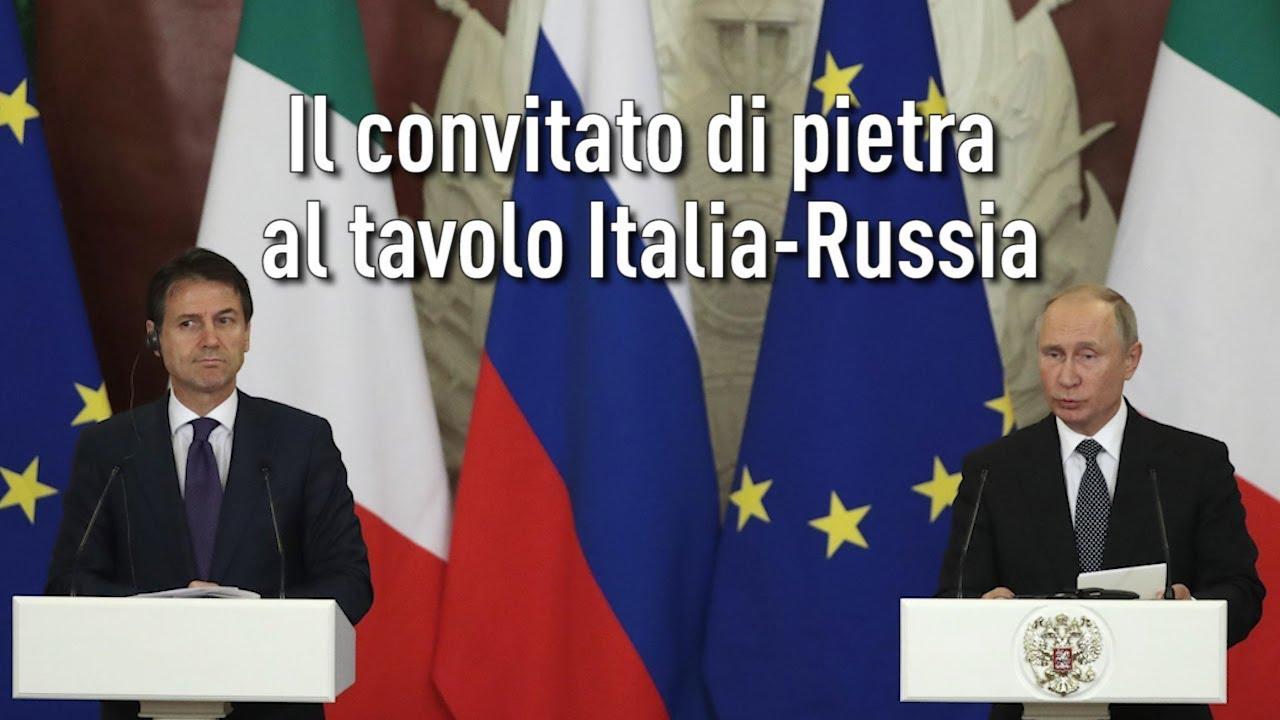 L'Arte della Guerra - Il convitato di pietra al tavolo Italia-Russia (IT/EN/PT/FR/RO/DE)