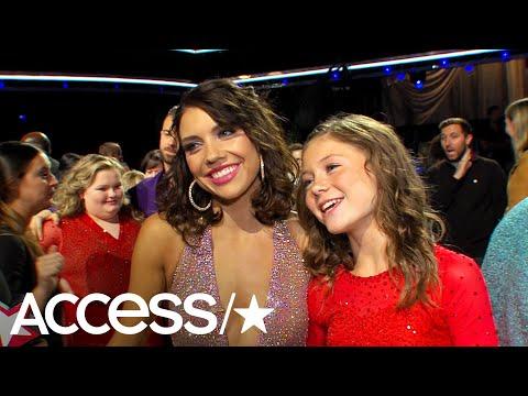 'DWTS: Juniors': Hailey Bills' Mentor Is DWTS Pro (& Aunt) Jenna Johnson   Access