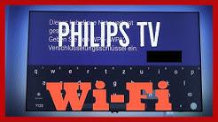 Philips Android TV WLAN Wi-Fi einrichten & WPS Tutorial