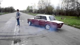 Приколы видео АВТО Красивый дрифт на ВАЗ 2106